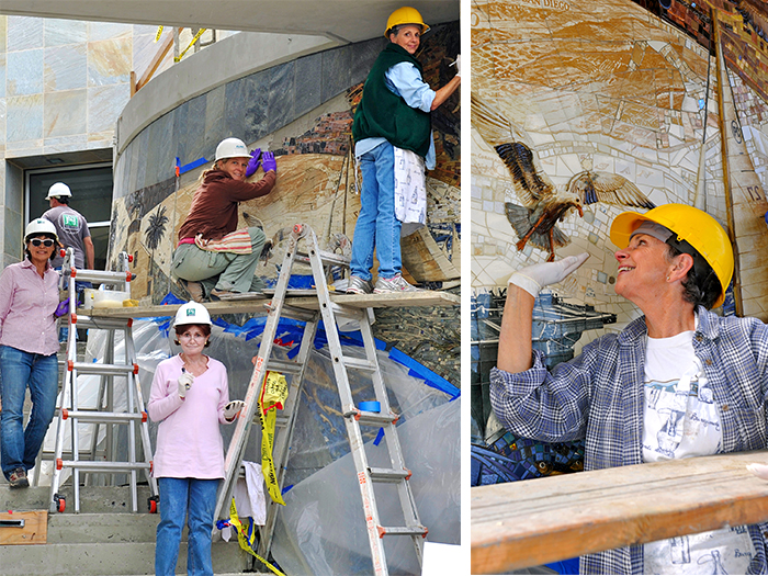 4_Harbor_Point_Mural_mosaic_install