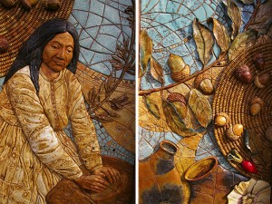 Barona Band of Mission Indians Tribal Office Murals